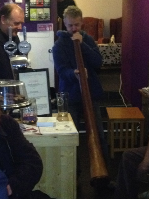 Proof – there was a didgeridoo